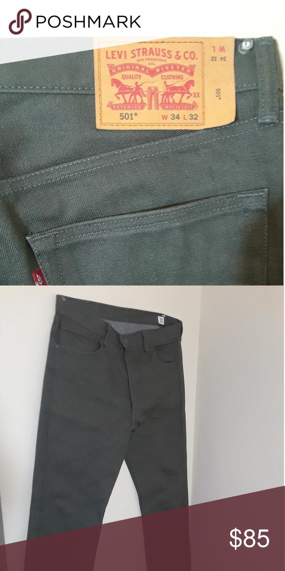 c873a0bec5e Exclusive Color Levis 501 jeans Men s size 34 Levi s Jeans Straight   MensJeans