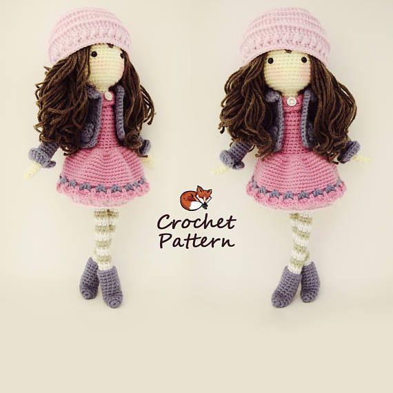 Amigurumi Pattern / Crochet Doll Pattern / Photo Tutorial ...