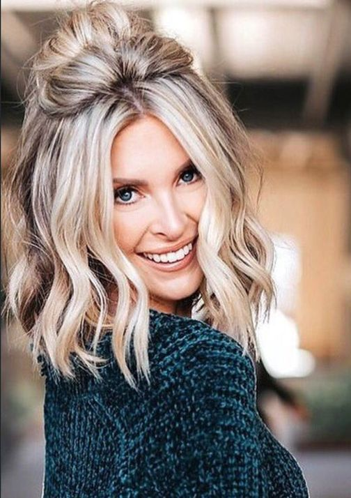 Top 14 Perfect Ideas of Silver Grey Hairstyles 2018 Blonde   #blondehair