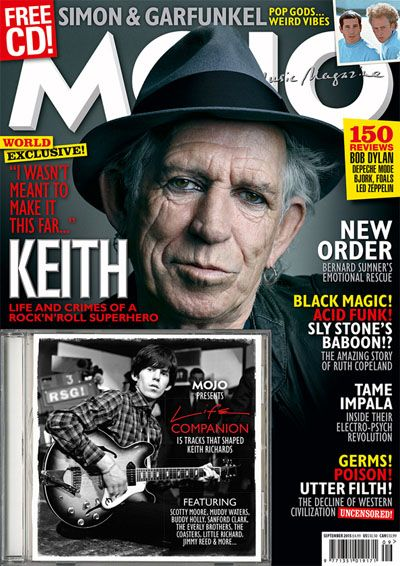 """Trouble"", novo som do Keith Richards."