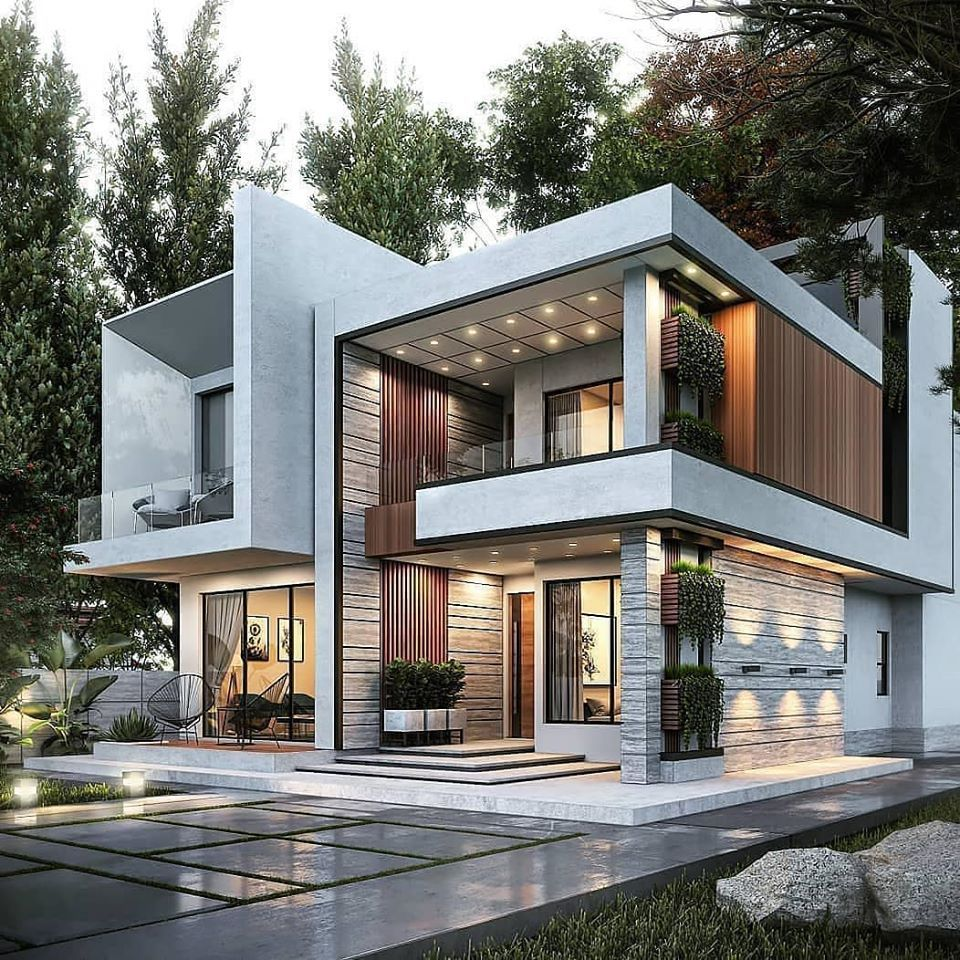 The Best Duplex House Elevation Design Ideas You Must Know In 2020 Duplex House Design Modern Villa Design Architect House