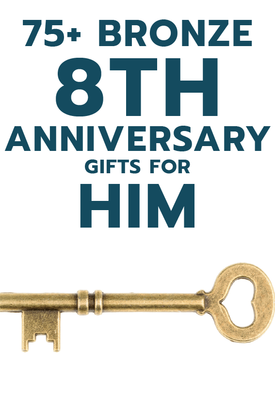 75+ Bronze 8th Anniversary Gift Ideas for Him Bronze