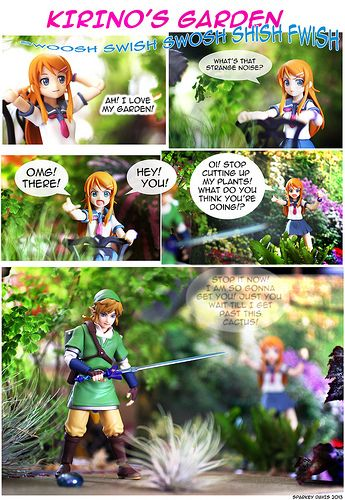 Figure Comic Kirino S Garden Legend Of Zelda Comics Garden