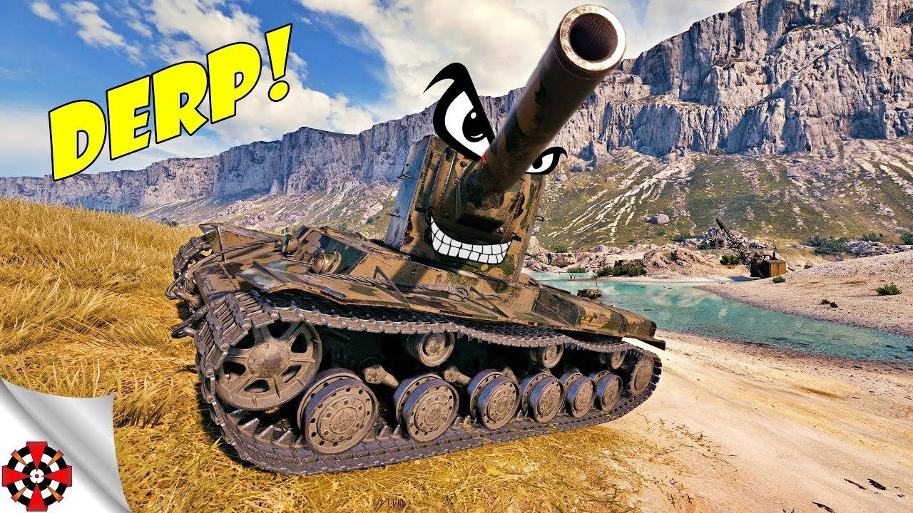 World of Tanks - Funny Moments | Time to DERP! (WoT derp, January