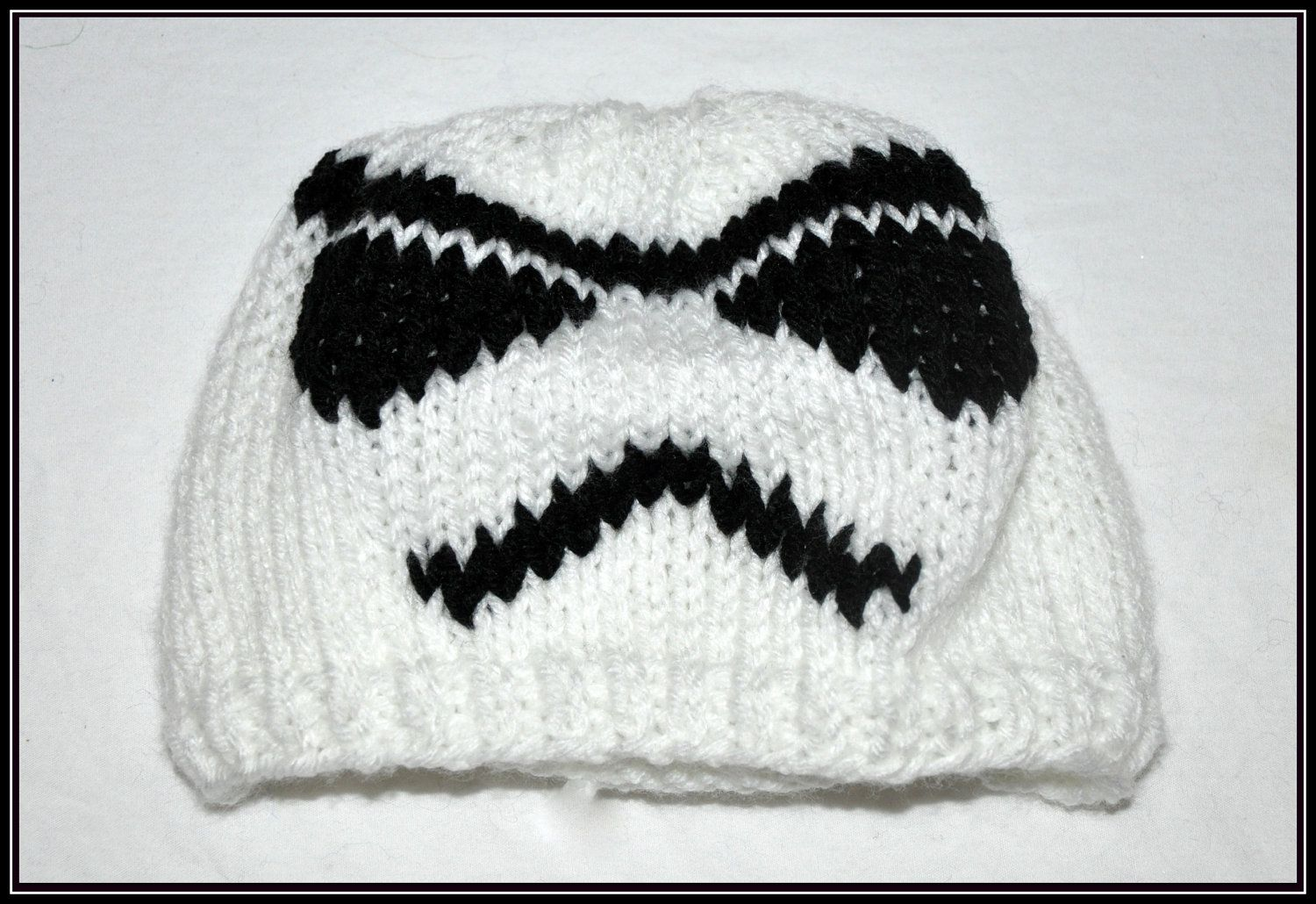 Star Wars Knit Hat | Home Hats Knit Star Wars Stormtrooper Hat ...