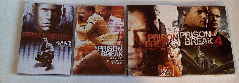 Prison Break Dvds Individual Seasons 1 2 3 Or 4 Region 1