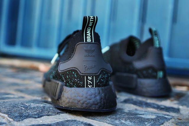9a7a5d86808722 Swag Craze  First Look  adidas Originals x Parley NMD R1 STLT - Core Black
