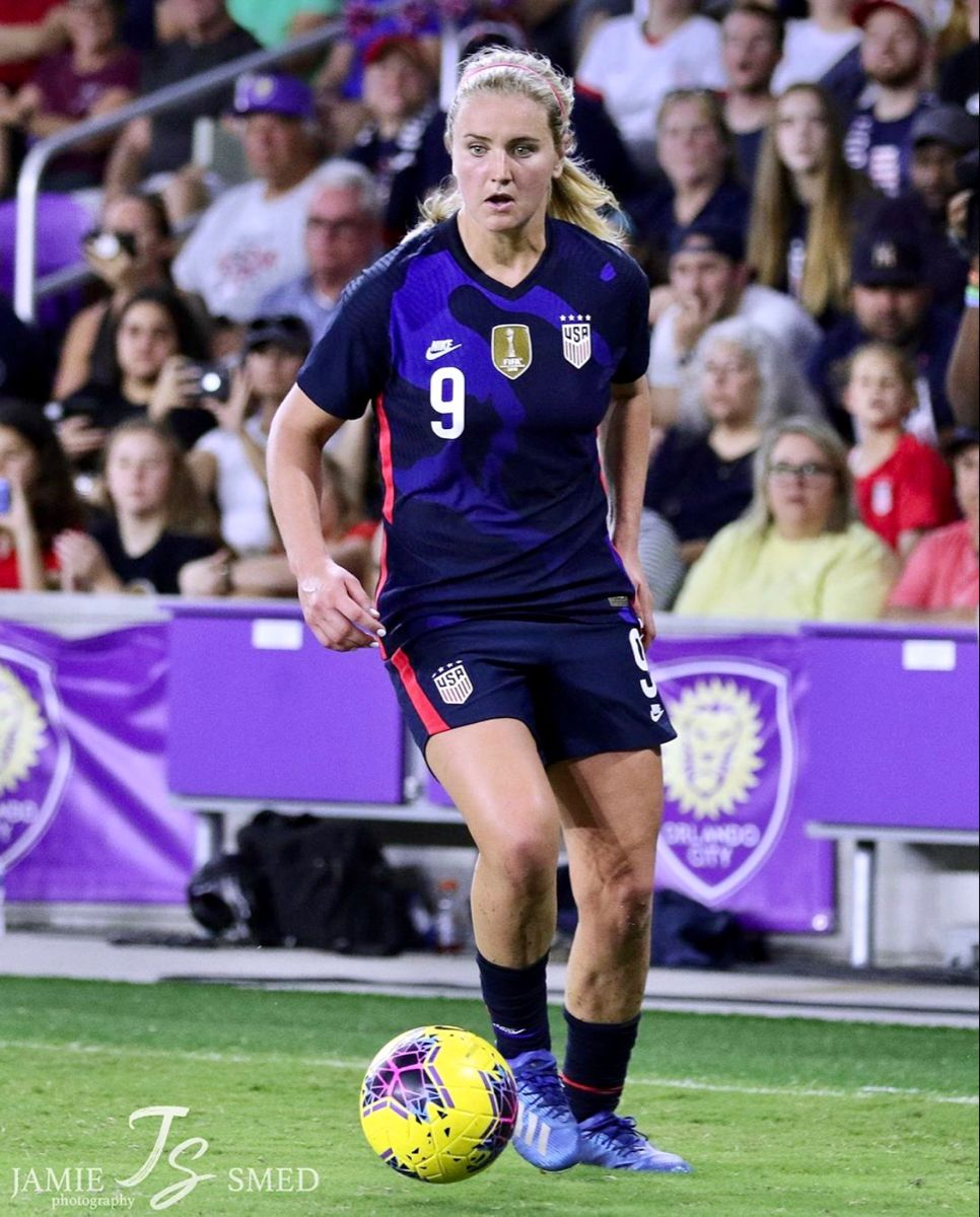 Lindsey Horan 9 Uswnt Usa Vs England 2020 She Believes Cup March 5 2020 In Orlando Florida Jamie Smed In 2020 Soccer Vs Football Uswnt Soccer Football Girls