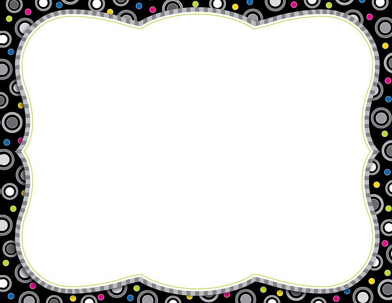 Cool Page Borders - Cliparts back to school Pinterest - certificate borders free download