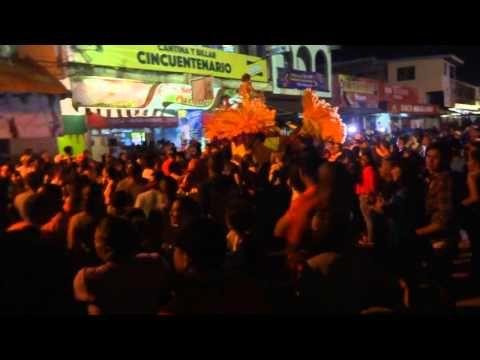 Calle Arriba Las Tablas Tuna jueves de carnaval 2016 Rosario Mayela