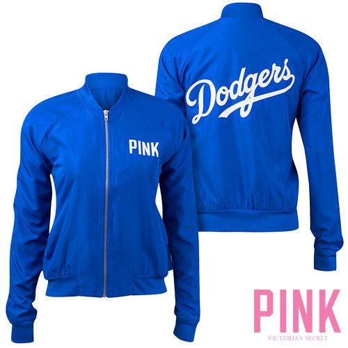 Los Angeles Dodgers Victoria's Secret PINK® Varsity Jacket