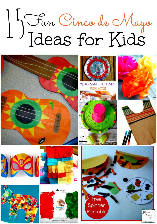 15 Fun Cinco de Mayo Ideas for Kids | Cinco de Mayo, De ...