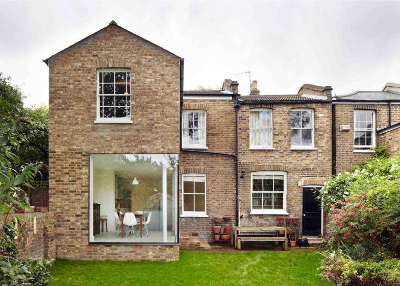 cousins and cousins add glass and brick extension to a london home, Innenarchitektur ideen
