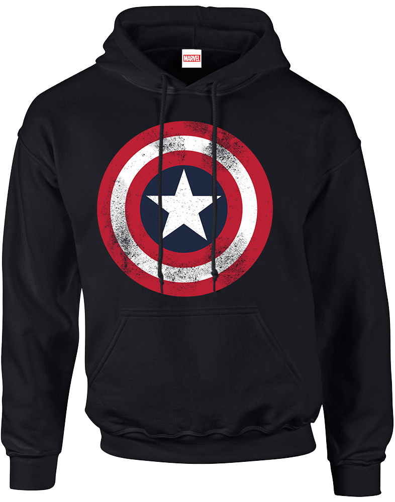 Marvel Mens Avengers Shield Sweatshirt