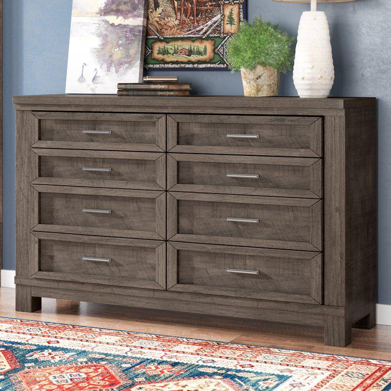 Best Sallie 8 Drawer Double Dresser Double Dresser Furniture 400 x 300