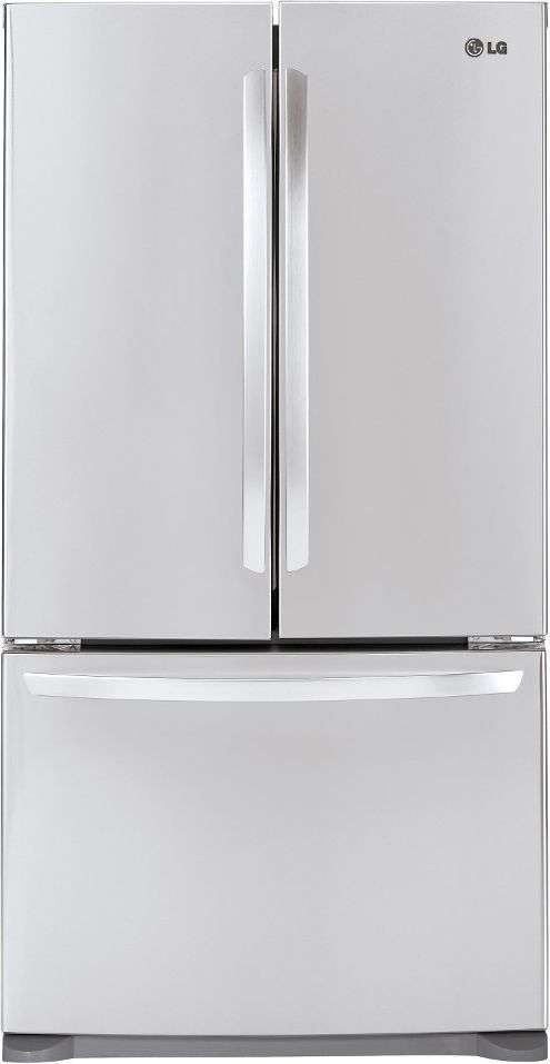 207 Cu Ft Stainless Steel Counter Depth French Door Refrigerator