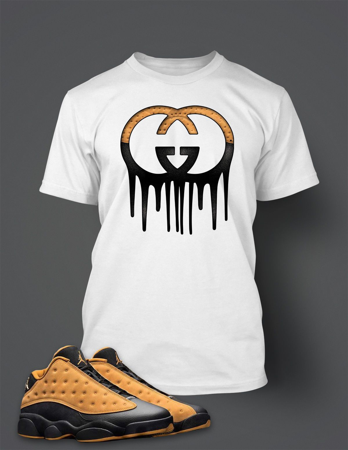 b3760e7dcdea68 New Graphic T Shirt to Match Retro Air Jordan 13 Low Chutney Shoe