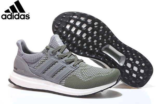 the best attitude 98511 38041 Men s Women s Adidas Running Ultra Boost Shoes Army Green Grey,Adidas-Ultra  Boost Shoes Sale Online