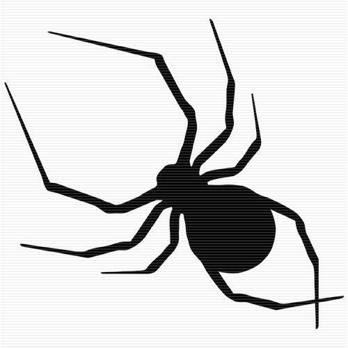 venomous spider clip art black and white images pinterest clip rh pinterest com clipart spiders free clip art spider in web