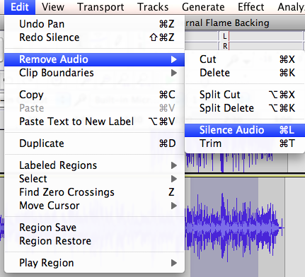how to record multiple tracks with audacity.