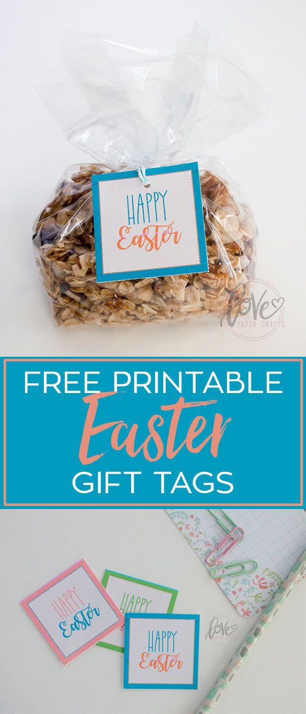 Free printable easter gift tags free printable easter and gift free printable easter gift tags negle Image collections