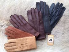 Women/'s Driving Gloves Deerskin Leather Tan Brown Color size 6.5 7 7.5 8
