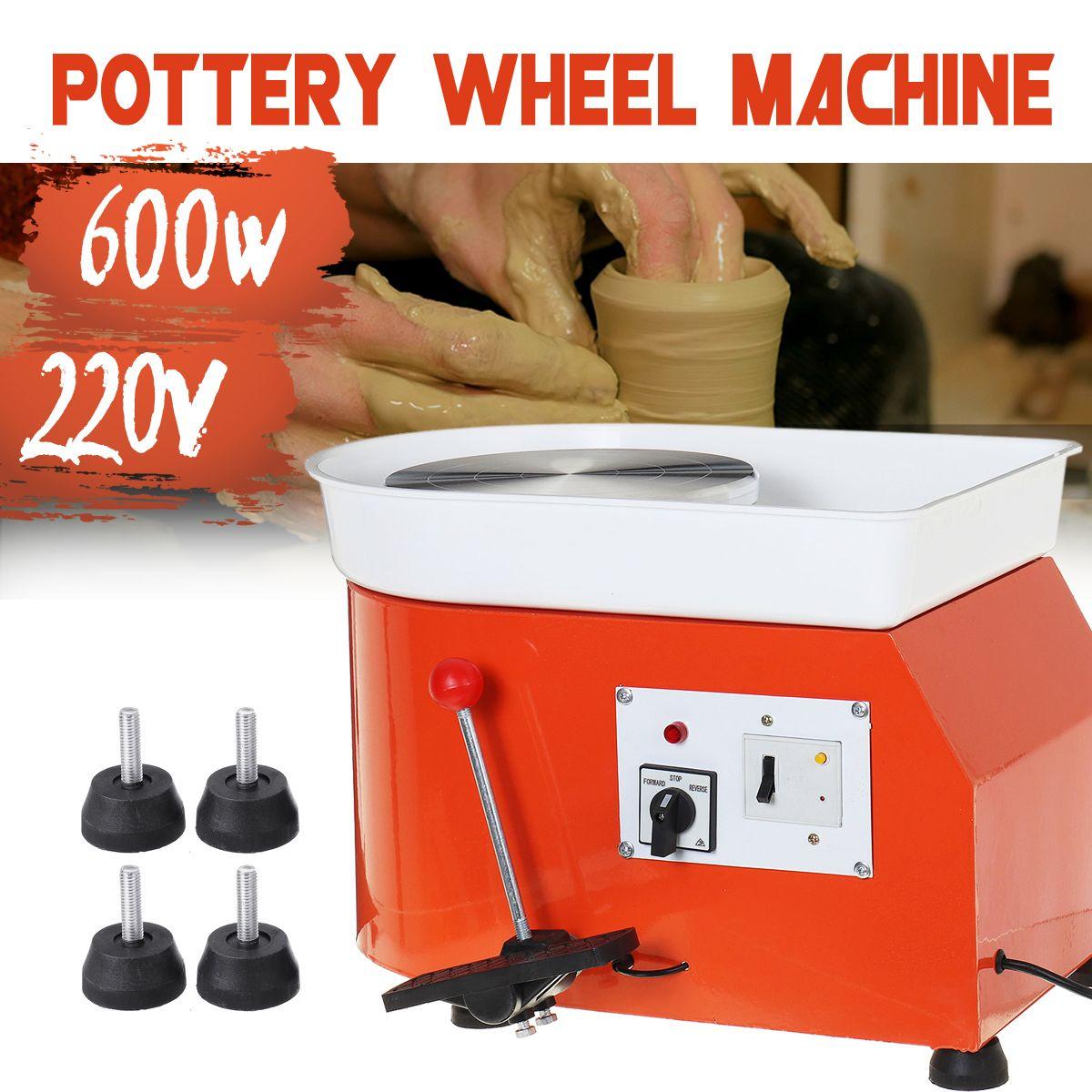600W 25CM Electric Pottery Wheel Machine Ceramic Clay machine Work Clay Art Craft Foot Peda   #Banggood #600W #25CM #Electric #Pottery #Wheel #Machine #Ceramic #Clay #machine #Work #Clay #Art #Craft #Foot #Peda