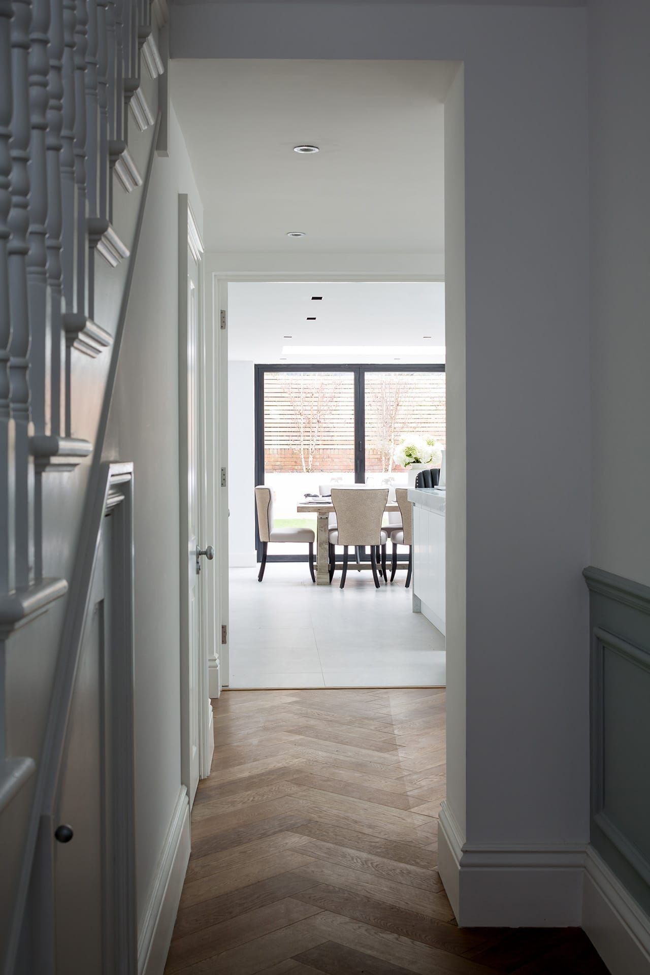 Hughes developments completed a top to bottom redesign of this semi detached victorian house in south west london the project included a basement dig to