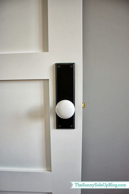 New House picture dump | Porcelain door knobs, White porcelain and ...