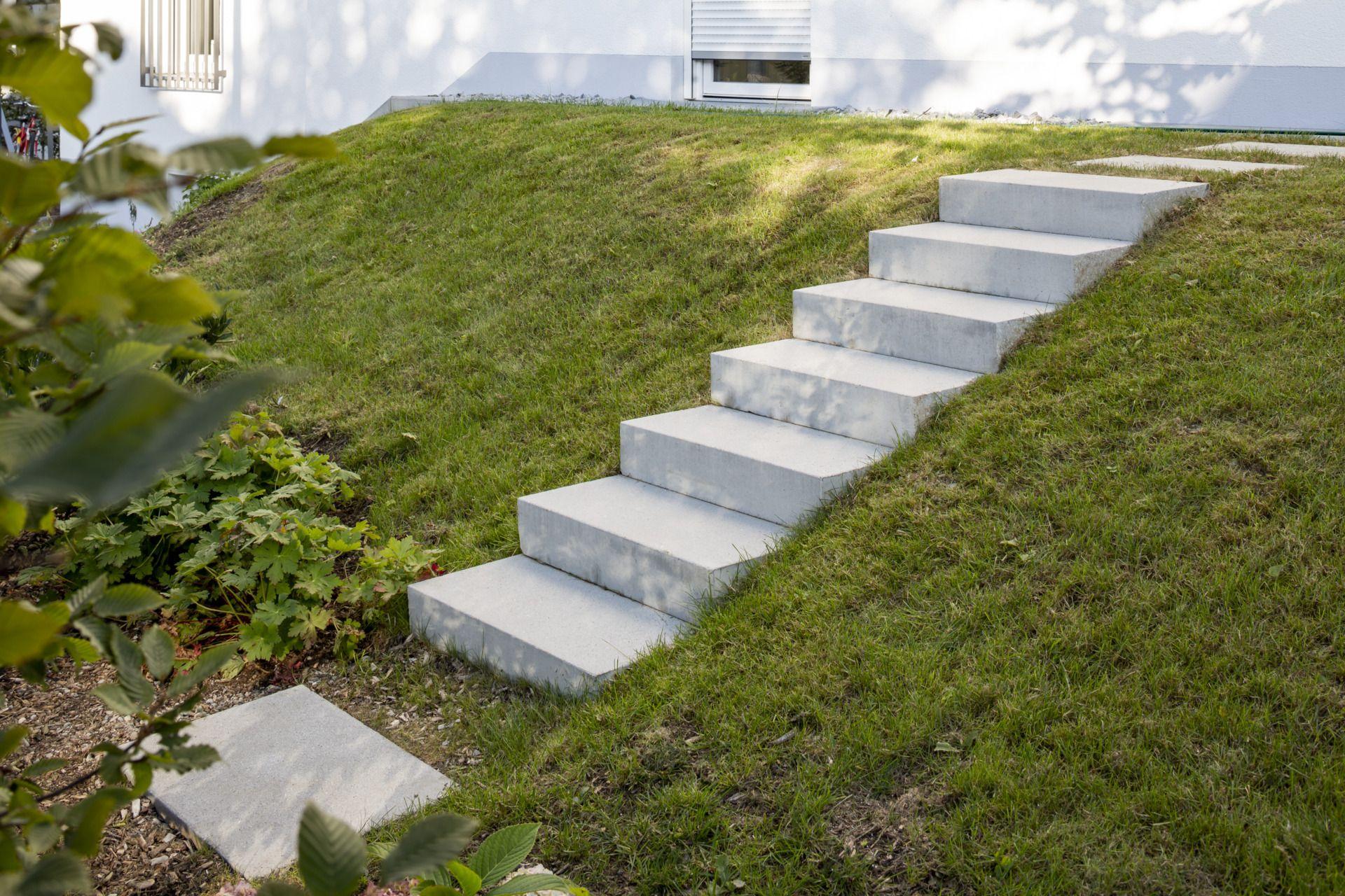Treppen im Garten   Ideen und Inspirationen   Gartentreppe, Garten ...