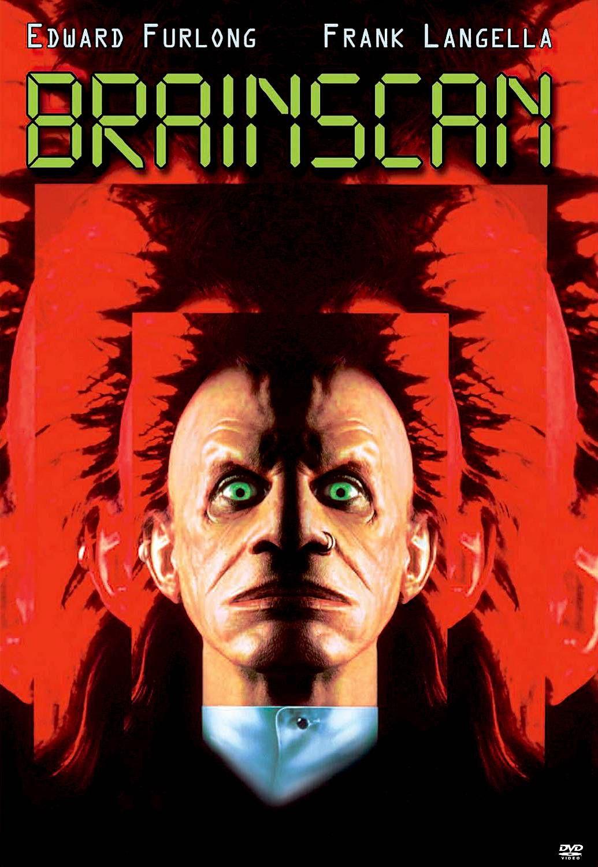 BRAINSCAN DVD Horror movies, Horror movie posters