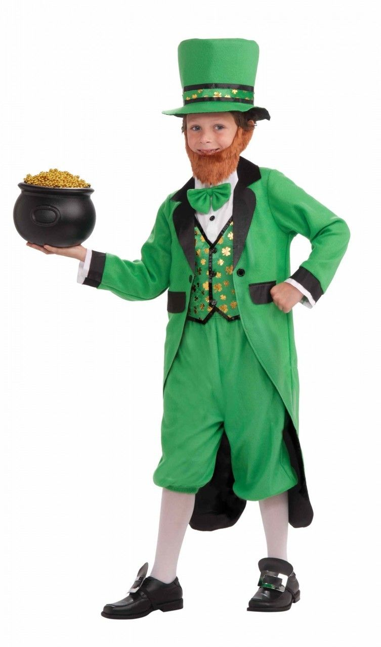 Lil Leprechaun Boys Child St Patricks Day Holiday Irish Costume