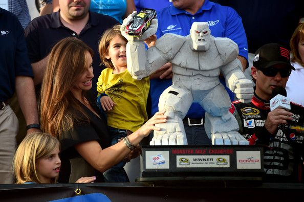 Jeff Gordon Ingrid Vandebosch Photos: AAA 400