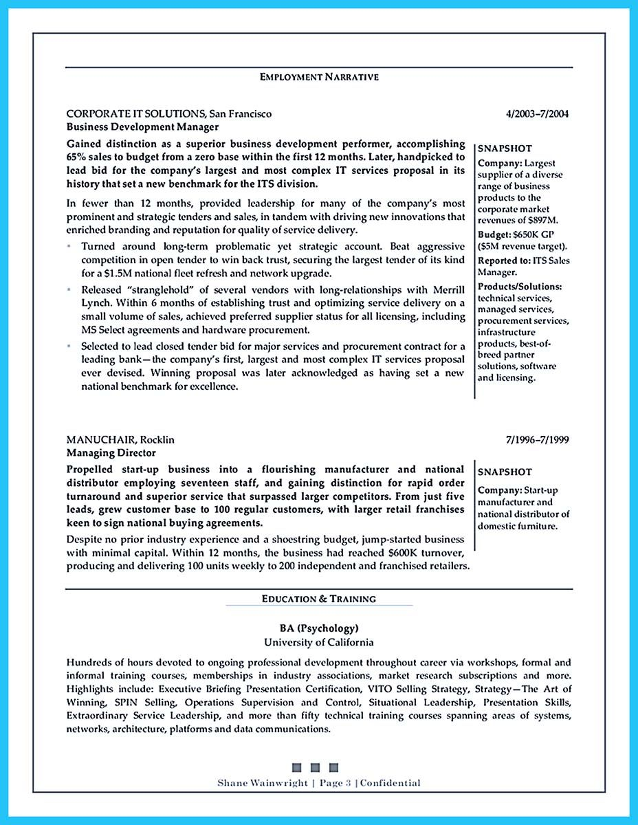 Cool The Most Excellent Busines Management Resume Ever Check More At Http Snefci Org Employment Statu Dissertation