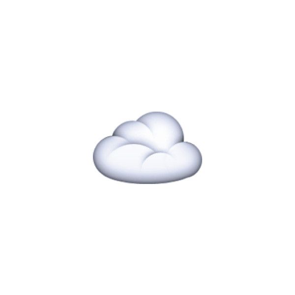 Cloud Liked On Polyvore Featuring Emoji Cloud Cloud Emoji Ve Fillers Cloud Emoji Clouds Tumblr Transparents