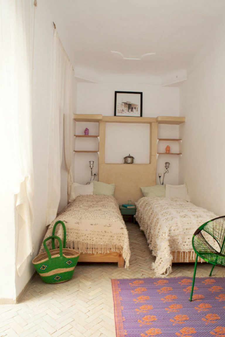 50+ Best Twin Bed Ideas For Small Bedroom 17   Small ...