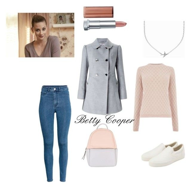 """""""betty cooper riverdale outfit""""rockruby liked on"""