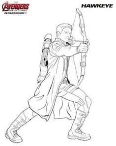 40 desenhos dos Vingadores para colorir, pintar, imprimir ...