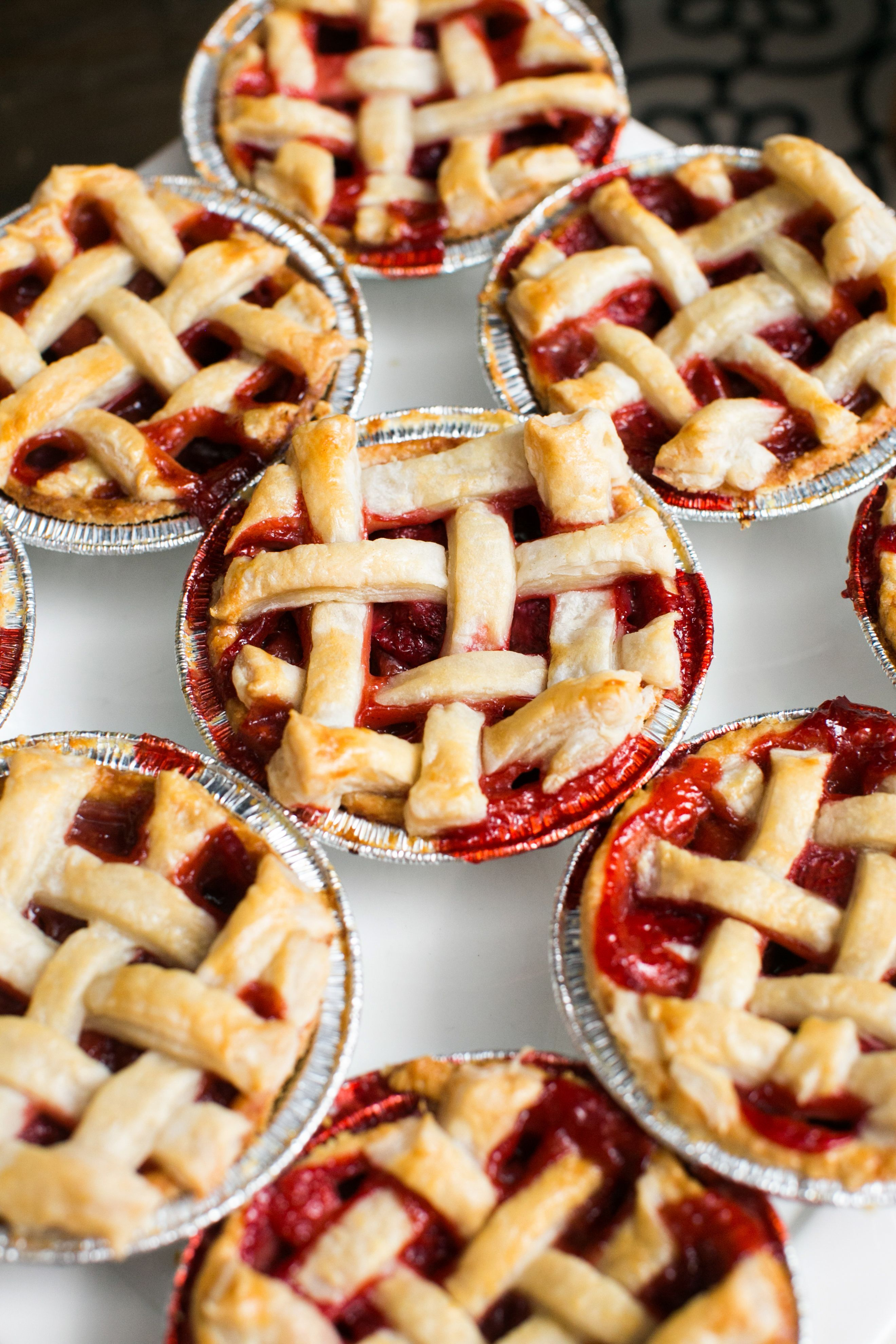 """""""Sweet as Pie"""" individual pies for favors! 