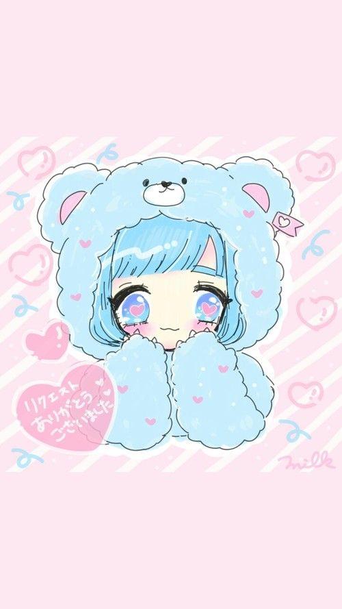 Adorable Cute Anime Unicorn Girl Google Search Cute Drawings Kawaii Art Girl Drawing