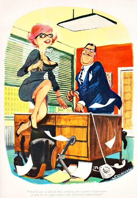 vintage cartoon sexist office secretary take a letter darling pinterest vintage cartoon. Black Bedroom Furniture Sets. Home Design Ideas