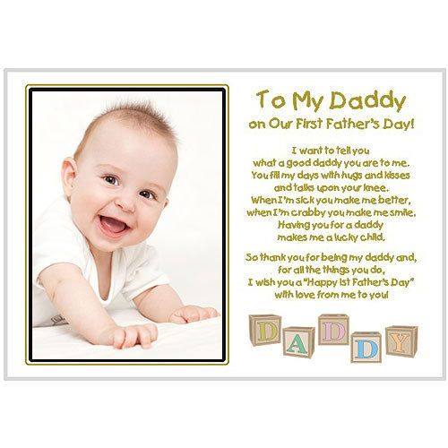 new dad to my daddy on our first father s day by poetrygifts 14 99
