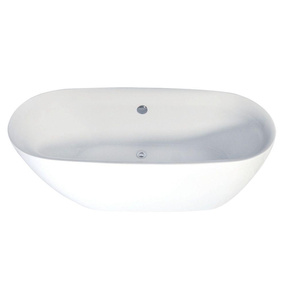 Aqua Eden Contemporary Freestanding Acrylic Bath Tub Bath Tubs - Bathroom tub price