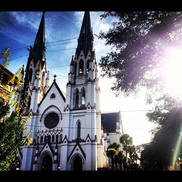 Lafayette Travel: Lafayette Square, Savannah, Georgia