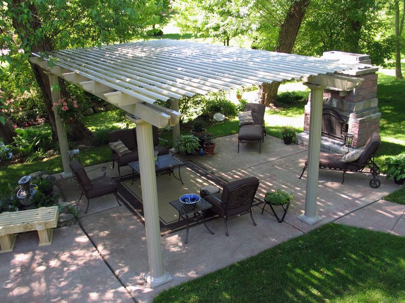 Image from http://www.temosunrooms.com/wp-content/gallery/freestanding-pergola/freestanding2.jpg.