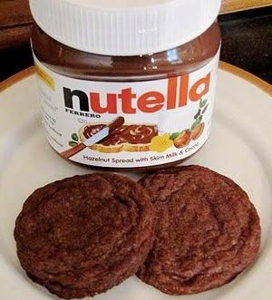 Nutella Cookies by lea