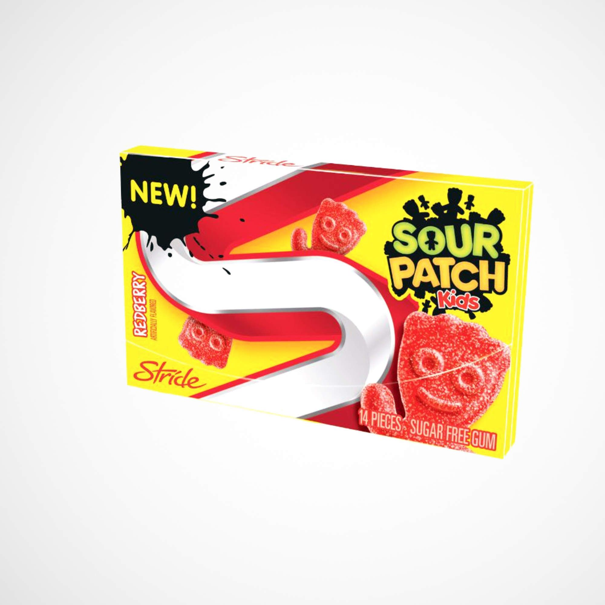 Sour Patch Kids Gum It Is Disgusting At First But After 10 Minutes It Tastes Better Sour Patch Kids Sour Patch Sugar Free Gum