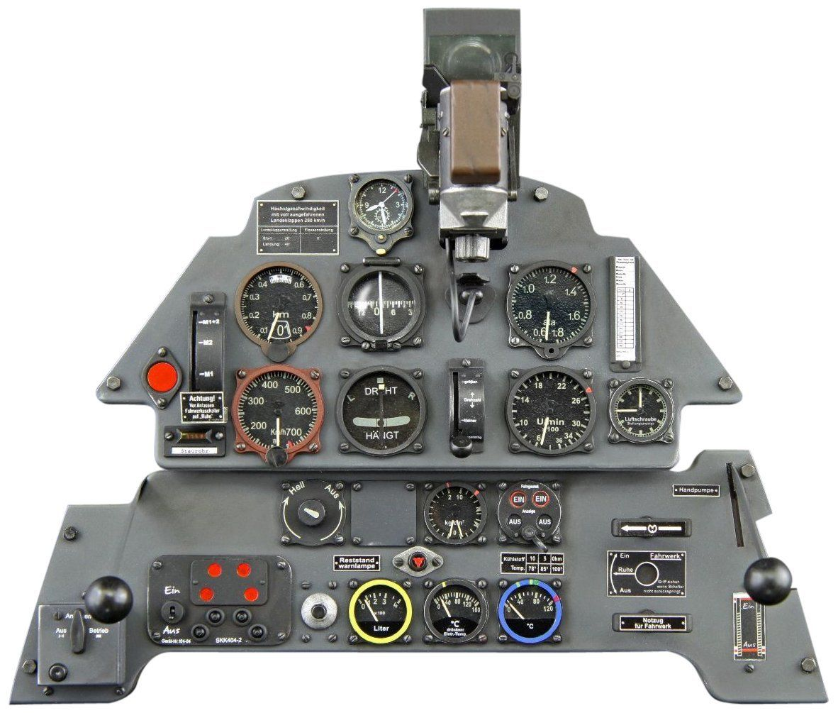 Cockpit Instrument Panel : Bf e instrument panel model aircraft models