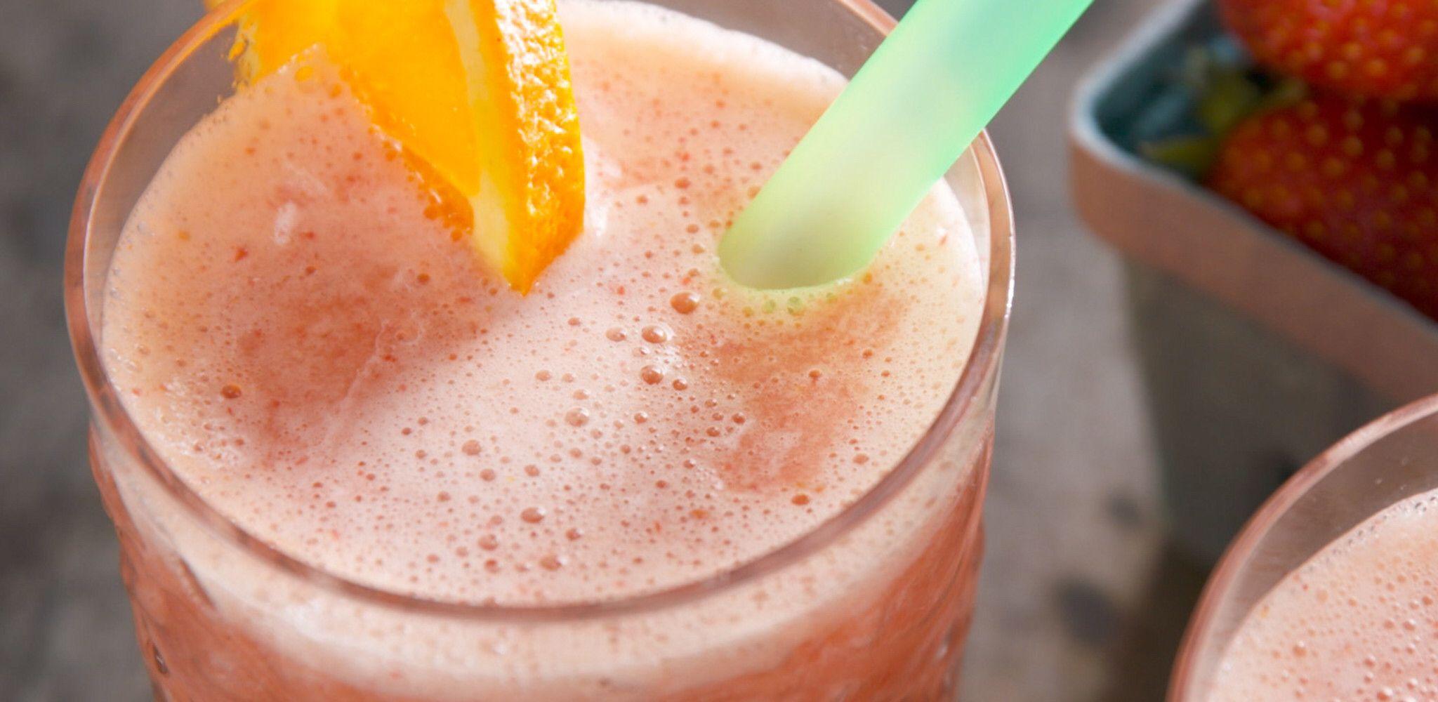 Strawberry OJ Recipe in 2020 Food network recipes