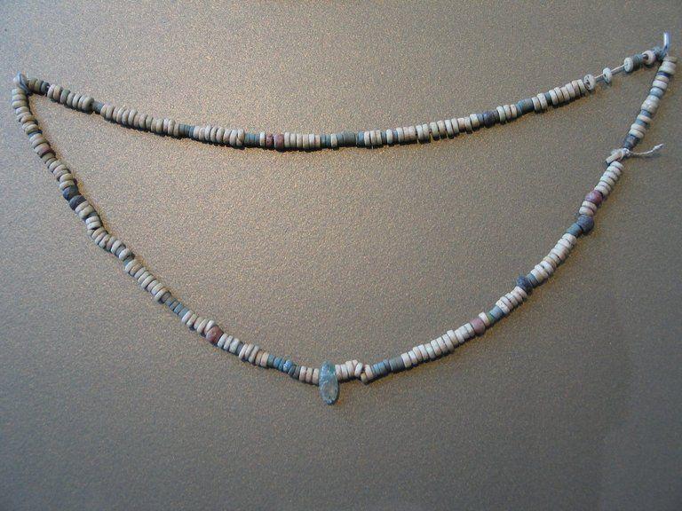 """Pan Grave"" Necklace. Second Intermediate Period, XVII Dynasty, ca. 1630-1539 B.C."